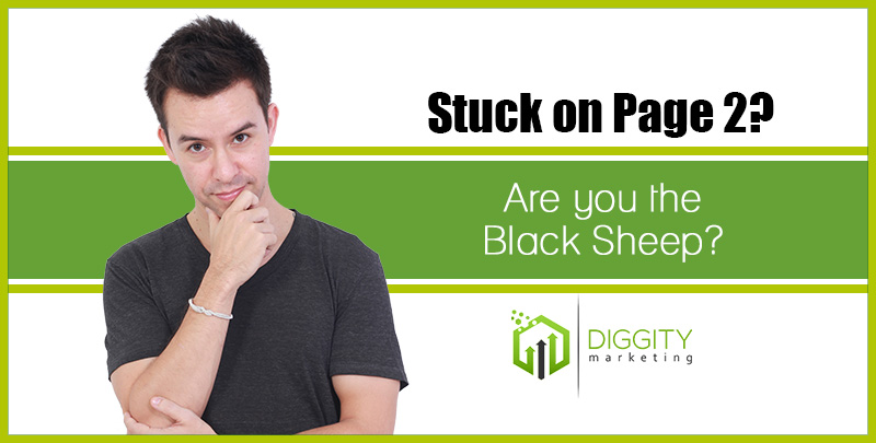 The Black Sheep: Why You're Stuck on Page 2 (Revised)