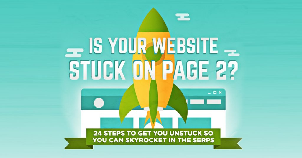 Infographic: 24 Steps to Help Get You Unstuck in the SERPs