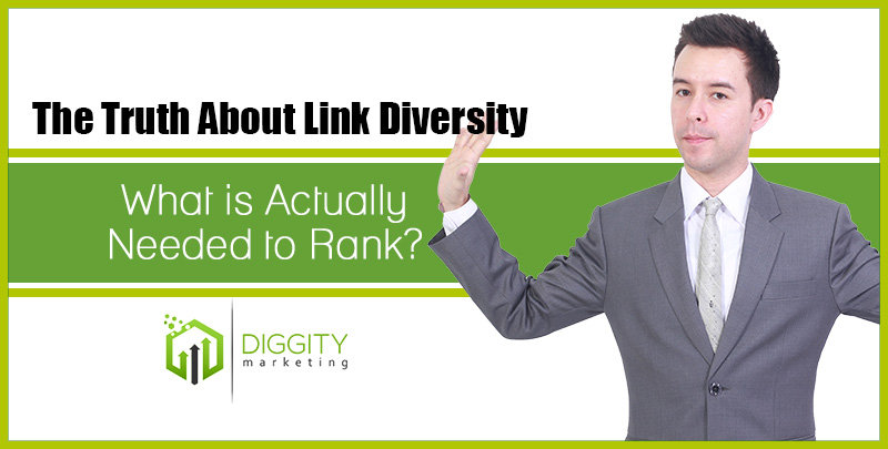 The Truth About Link Diversity: What is Actually Needed to Rank?