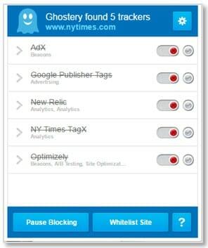 blocked trackers