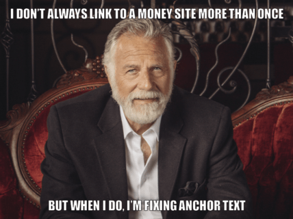 the most interesting anchor text