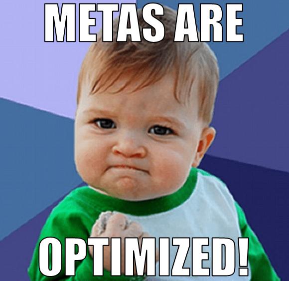 optimize metas
