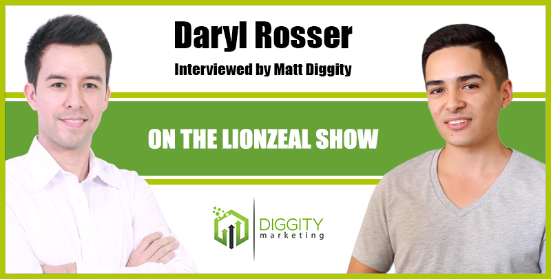I Interview Daryl Rosser on the Lionzeal Show