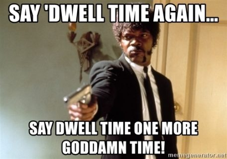 say dwell meme