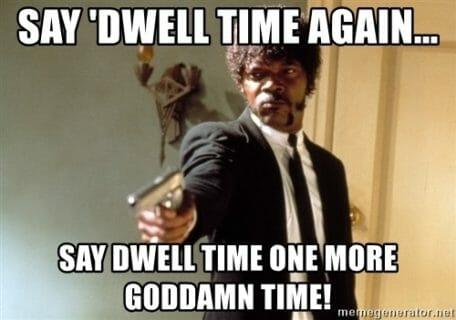 say dwell meme