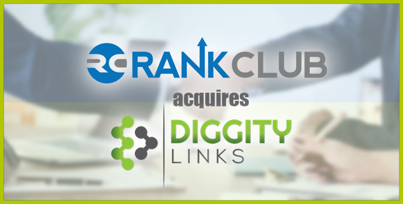 Announcement: Rank Club Acquires Diggity Links
