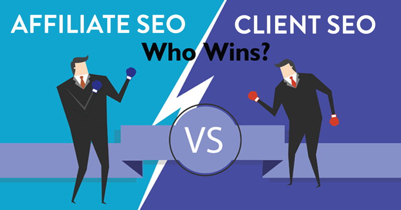 Infographic: Affiliate SEO vs Client SEO