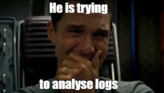 Analyze log meme