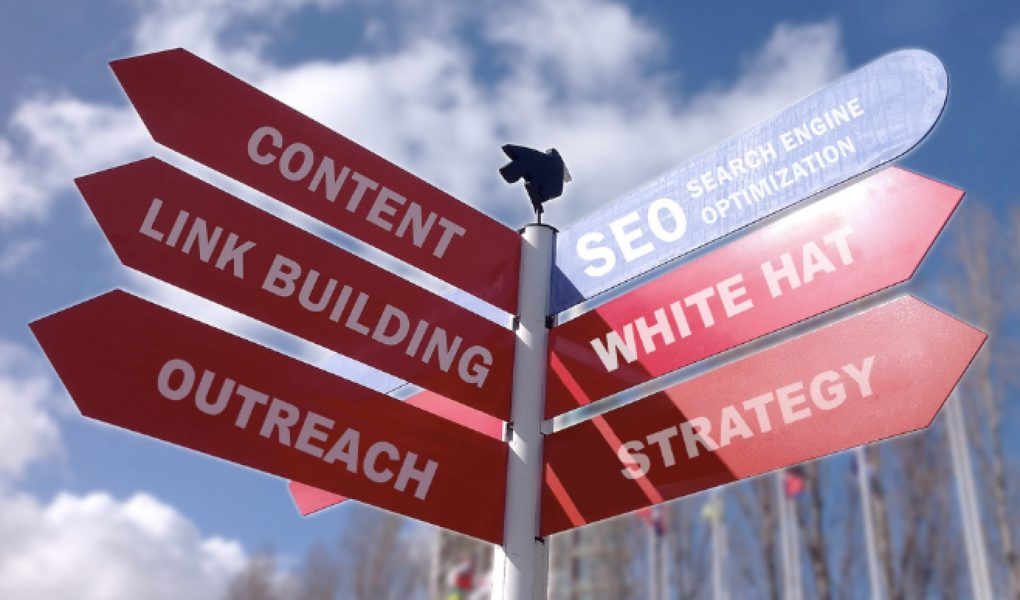 Direction signage SEO strategies