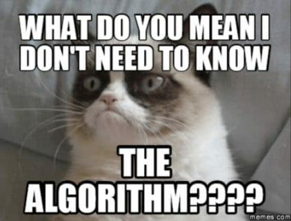 algorithm meme