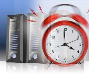 server uptime alarm
