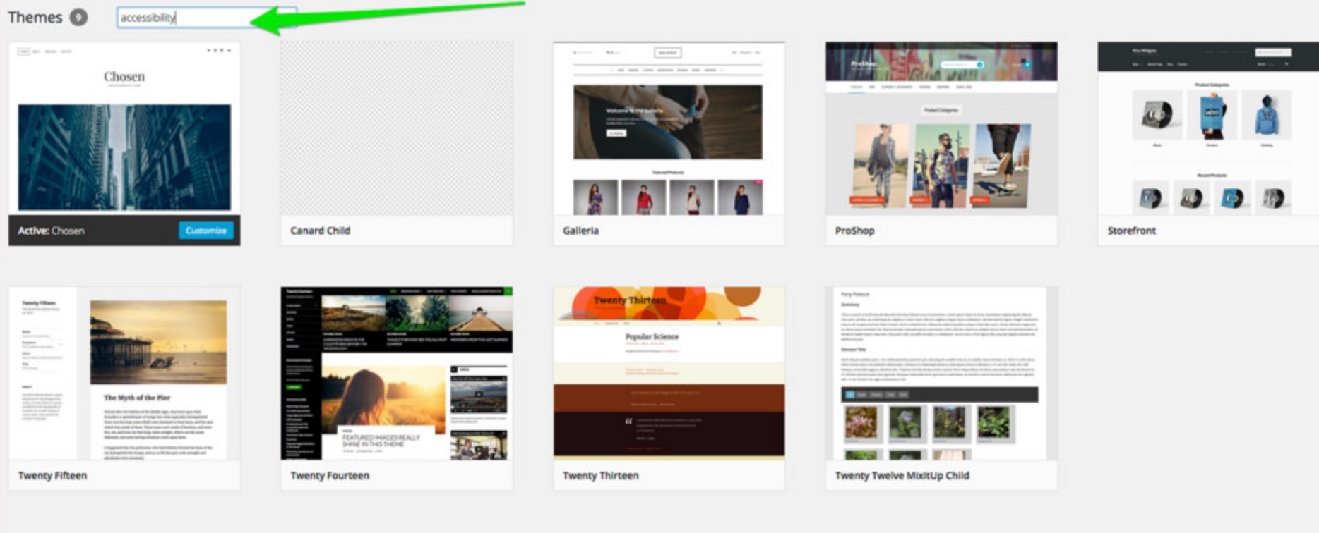 website themes for wordpress
