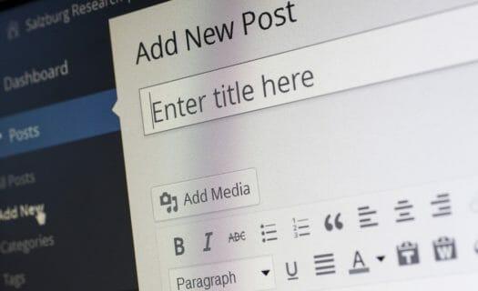 wordpress post blog