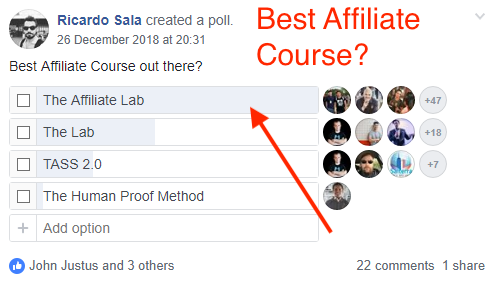 best affiliate course