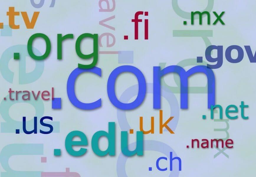 domain names selections