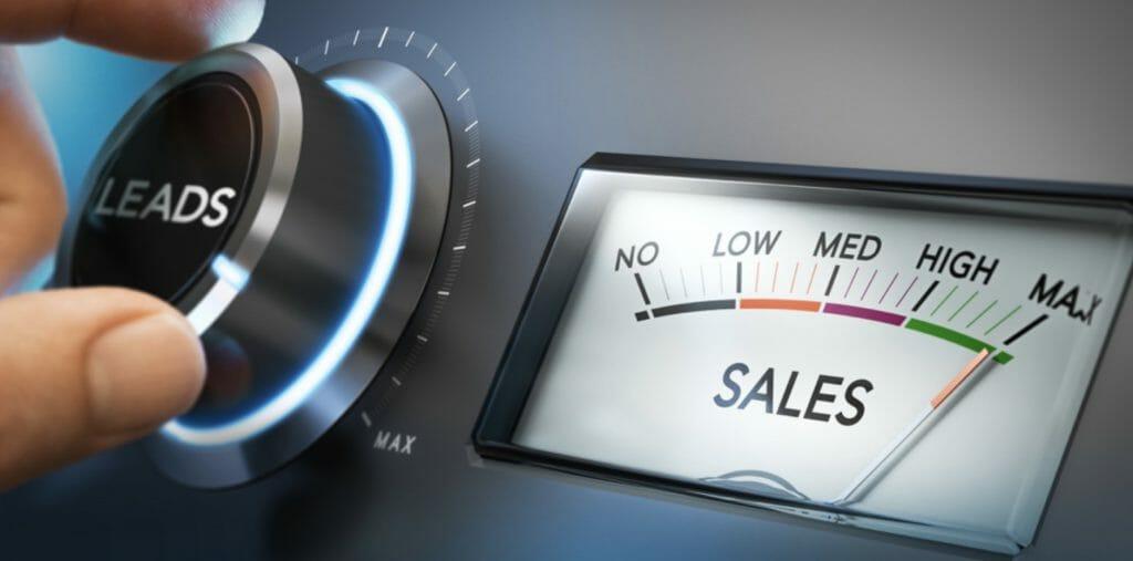 leads to sales meter