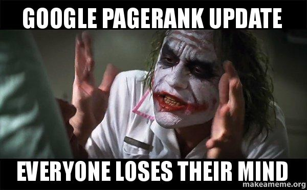 page ranking meme