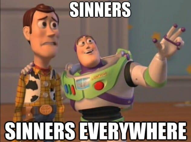 Sinners Meme