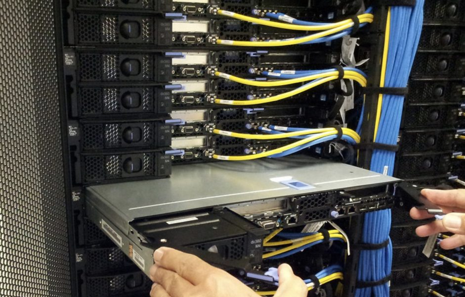 fixing server data center