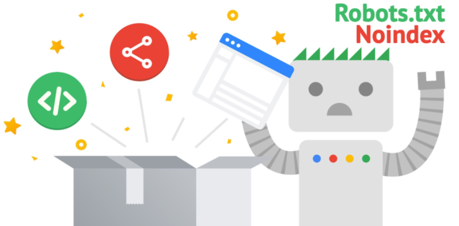 robots txt no index illustrations