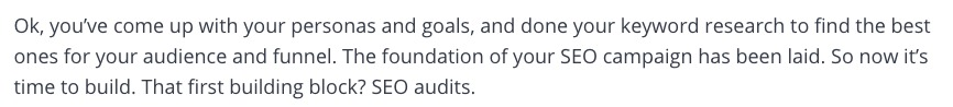 intro to auditing