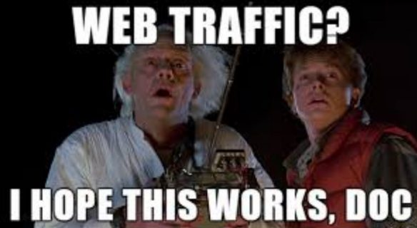 back to tthe future web traffic