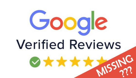 google review missing