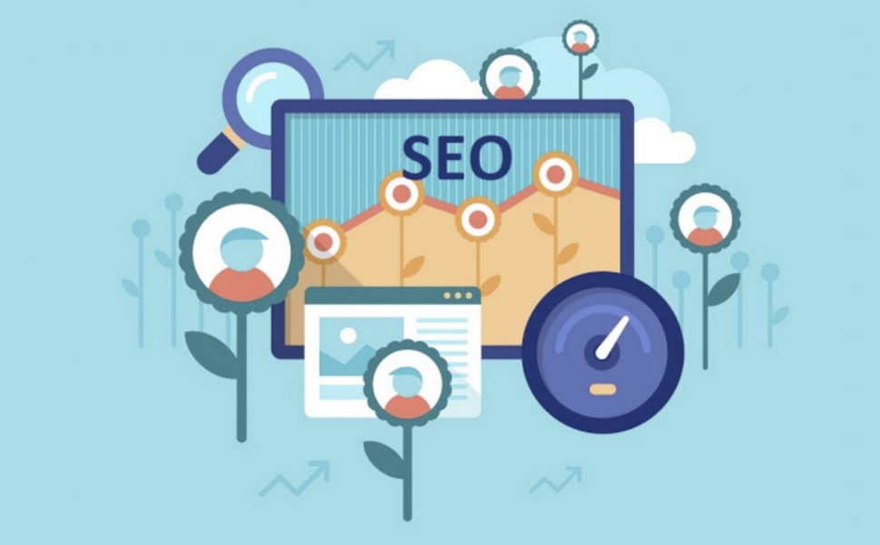 organic SEO illustration