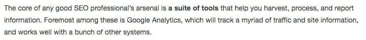 analytics intro