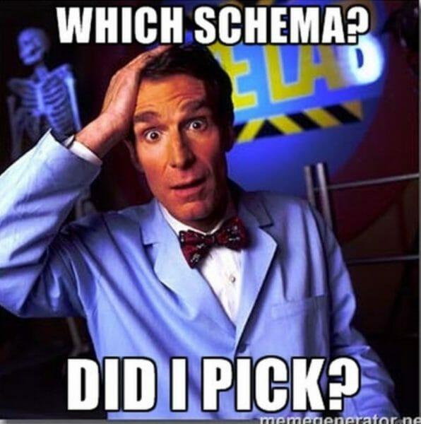 which schema meme
