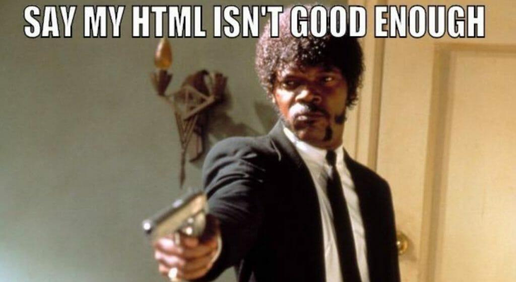 HTML Dare Meme