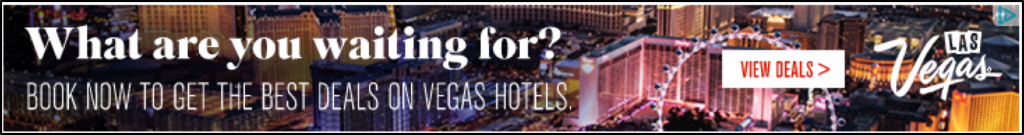 Vegas Display Ad sample