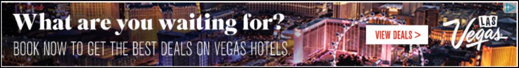 Esempio di annuncio display di Vegas