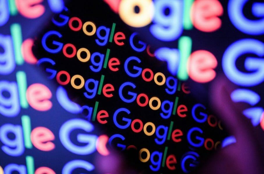 google logos glitches