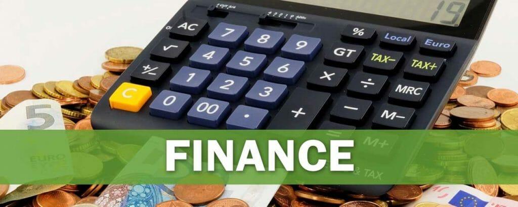 Finance niche banner