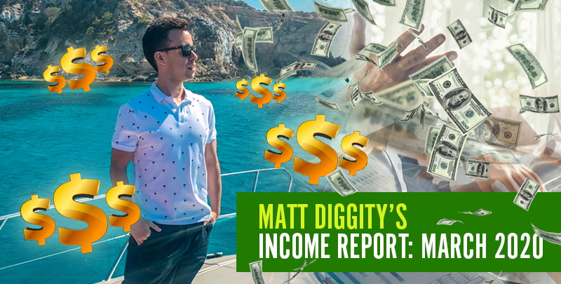 Diggity Income Report: March 2020