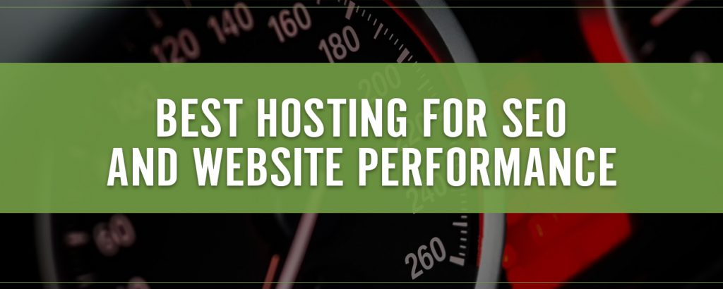 Best Web Hosting for SEO and Website Performance Title