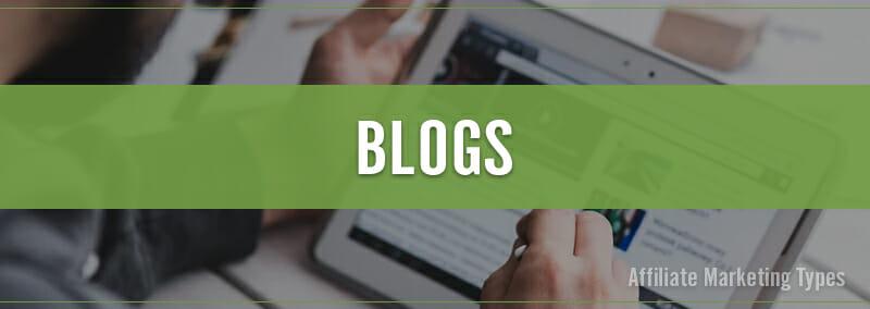 Marketing Types - Blogs