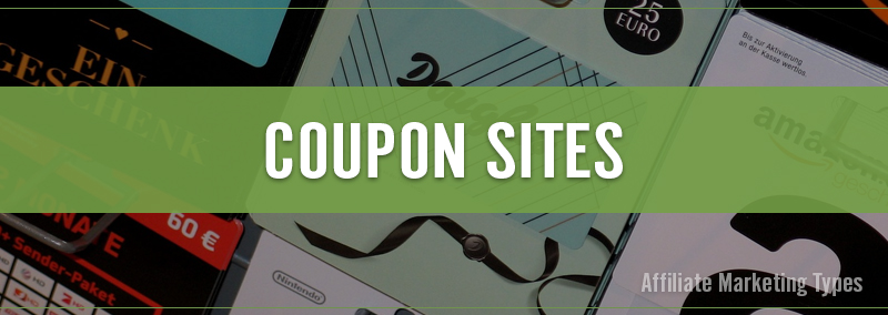Marketing Types - Coupon Site