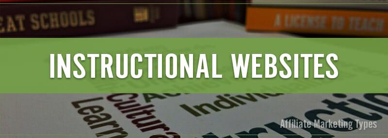 Marketing Types - Instructional Website