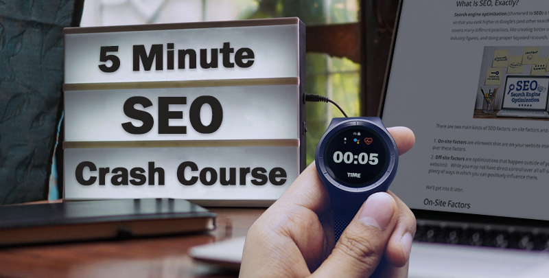 SEO Crash Course Cover Image