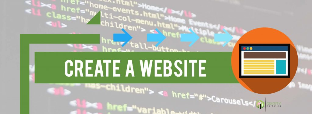 affiliate steps create a website