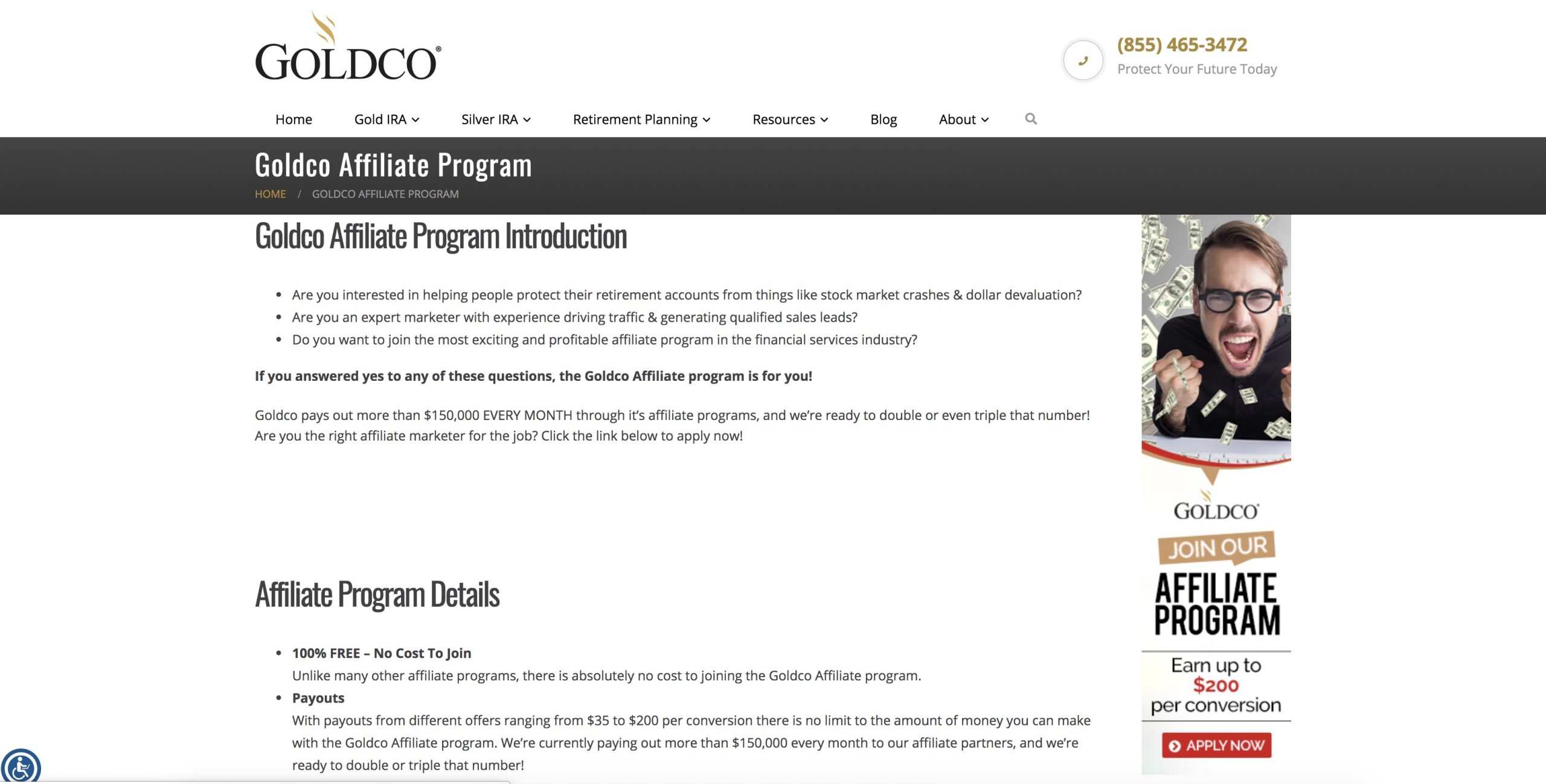Goldco Affiliate Program