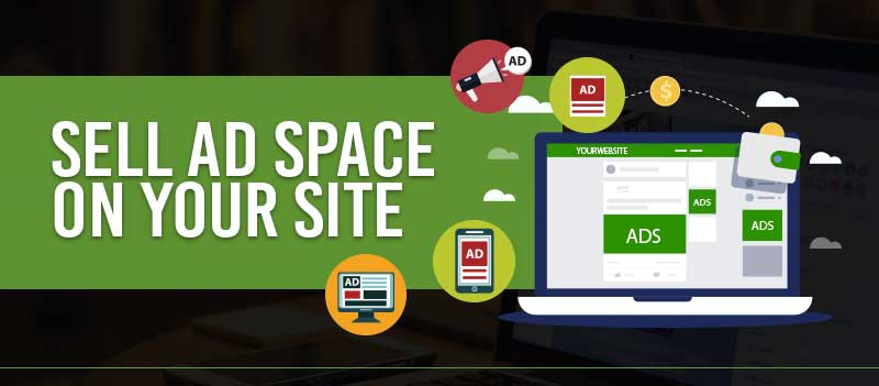 Sell Ad Space On Your Site