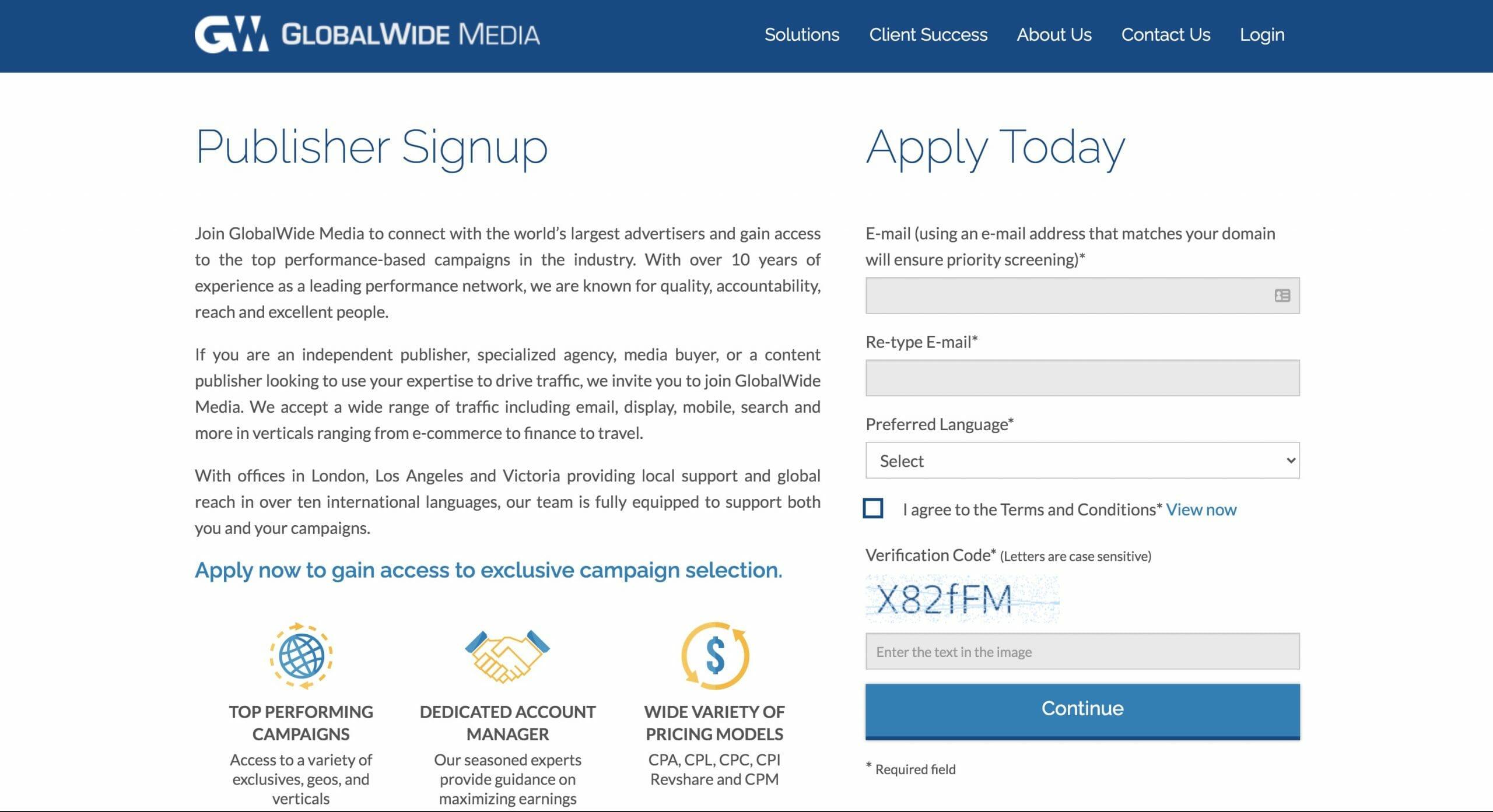 globalwidemedia homepage