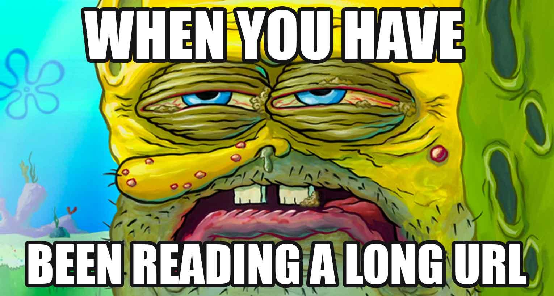 long url spongebob meme