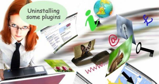 unistalling plugins