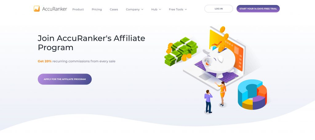 accuranker affiliate page