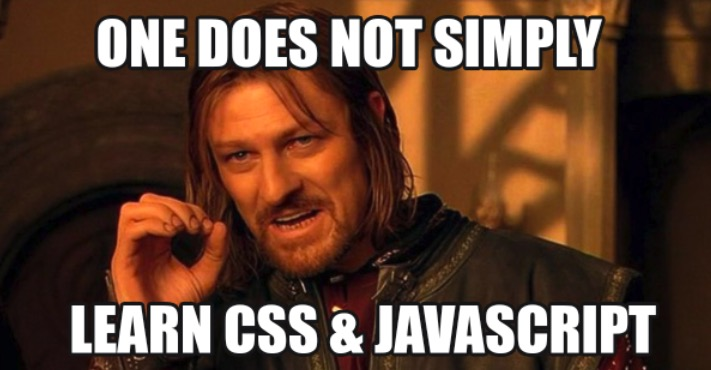 ned js and css meme