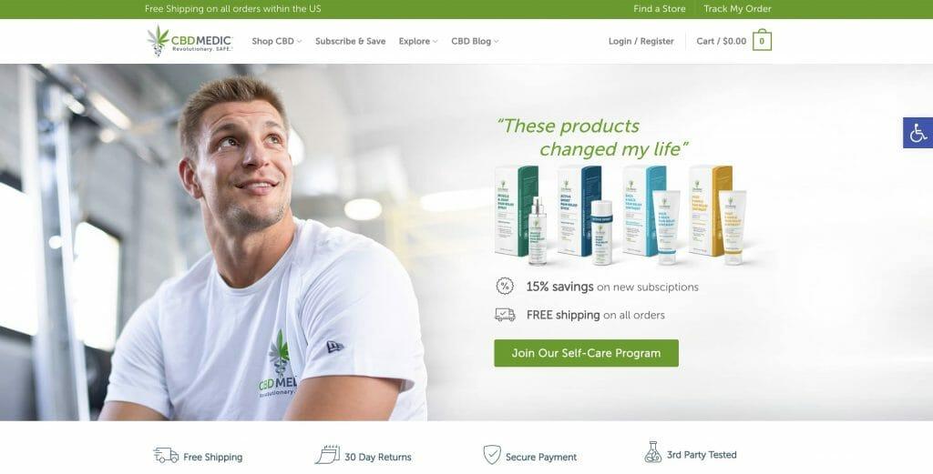 CBD Medic homepage